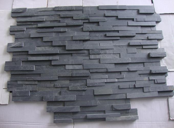 Slatestone Stacking Black Rustic
